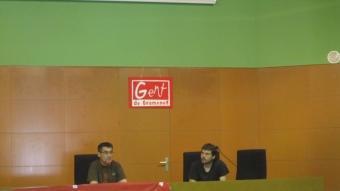 Un moment de la vuitena assemblea de Gent de Gramenet,a la Torre Balldovina EL PUNT