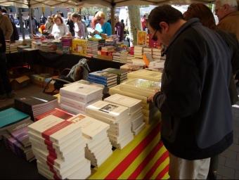 Les parades de llibres anul·lades per la pluja l'abril per Sant Jordi tornaran al Voral Vauban de Perpinyà per Sant Joan dissabte 25 ARXIU