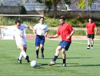 El futbol 7 és una de les competicions que s'han fet aquests dies a Barcelona.