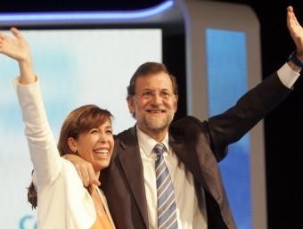 Rajoy sempre ha donat suport a Sánchez-Camacho