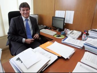 Antoni Cañete, secretari general de Pimec i portaveu de PMcM.  JUANMA RAMOS