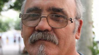 Josep Feria, portaveu de la plataforma contra la MAT Penyalba-Isona, ahir a Tremp. D.M
