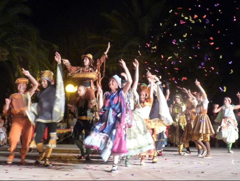 Un moment de l'edició 2010 de la Festa Catalana. PORTVENDRES E.C