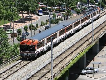 Tres trens de la línia R11 han resultat afectats per retards aquest dimecres M.LLADO