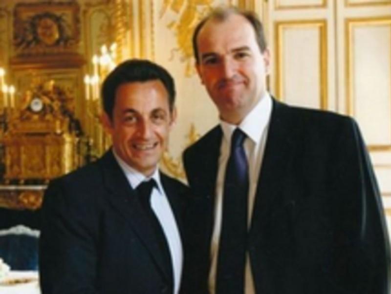 Nicolas Sarkozy amb Jean Castex. ARXIU