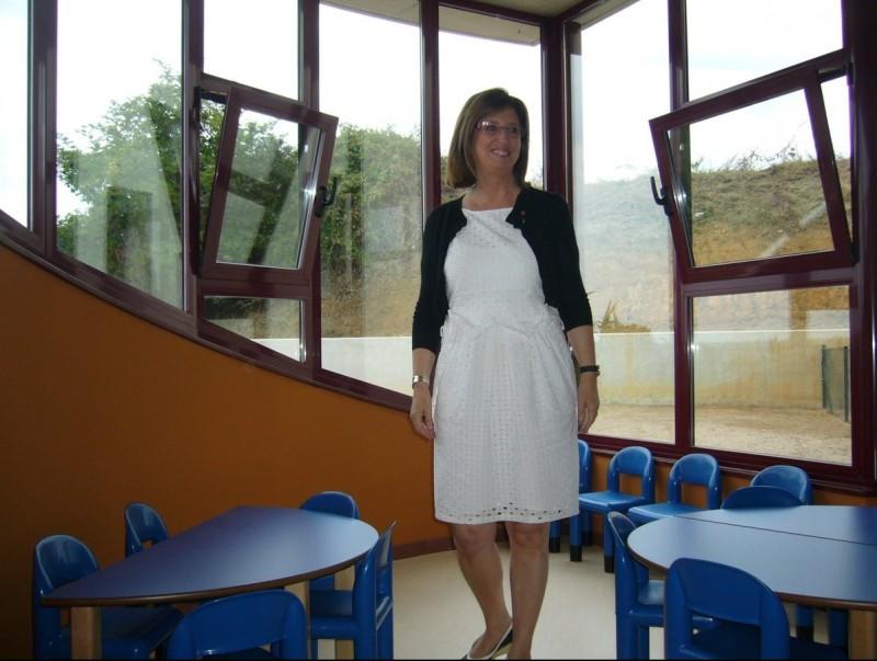 LA consellera Irene Rigau va inaugurar dissabte la llar d'infants Bladufes de Camós MAR VICENTE