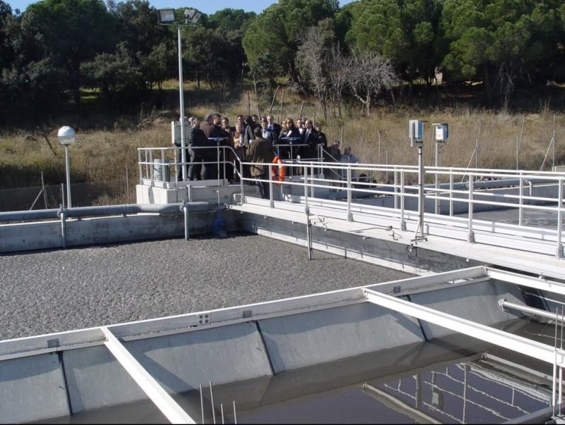 Imatge d'arxiu de la depuradora d'Arenys de Mar que ara la Generalitat vol ampliar. T.M