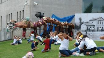 La festa infantil. CONSTANCI NAVARRO