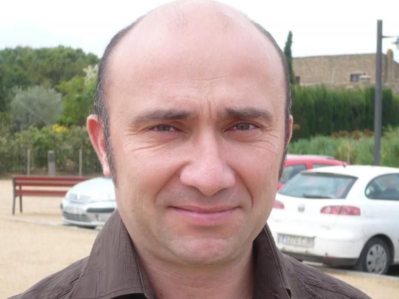 Joaquim Sabrià , alcalde de Parlavà. A.V