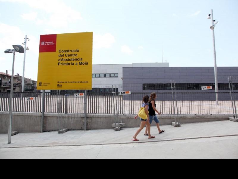 Imatge del CAP de Moià que ha d'entrar en funcionament el proper mes de novembre Andreu Puig