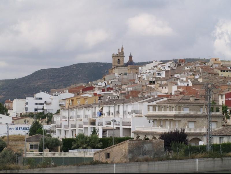 Vista panoràmica de Villar des del pujol de l'antic telègraf. ESCORCOLL
