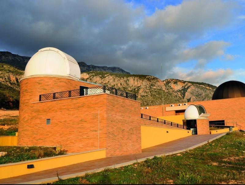 El Centre d'Observació de l'Univers del Montsec és a Àger. J.BAS