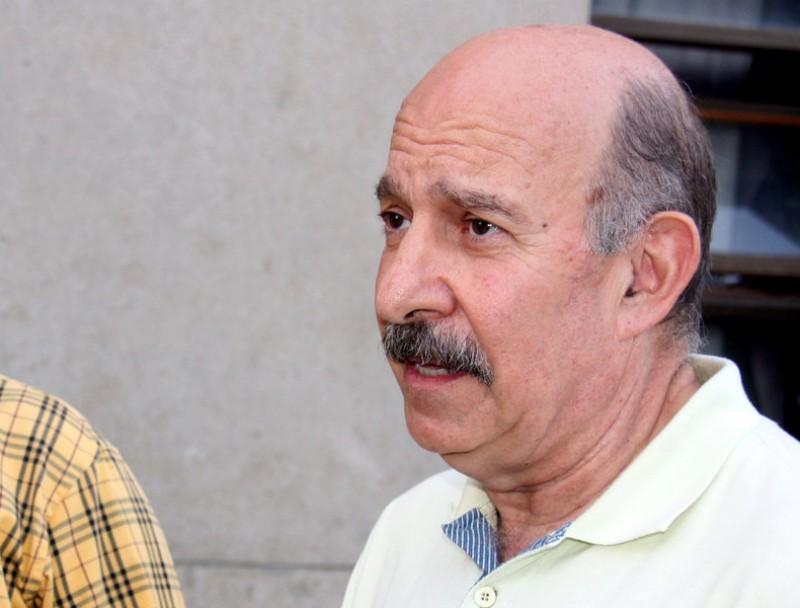 Josep Guia (dreta), acompanyat d'alfons López Tena GUILLEM SÁNCHEZ / ACN