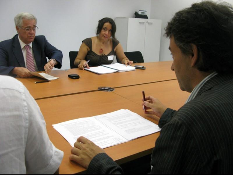 Munell, en una reunió divendres amb el delegat de Salut de Girona i els batlles de Vallfogona i Sant Joan de les Abadesses AJUNTAMENT DE RIPOLL