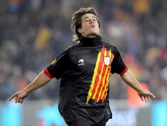 Bojan ha aconseguit marcar gol en els últims tres partits que ha jugat amb Catalunya. EL 9