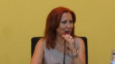 Carmen Jávega és des de dilluns 5 de setembre la nova presidenta de la Mancomunitat. ESCORCOLL