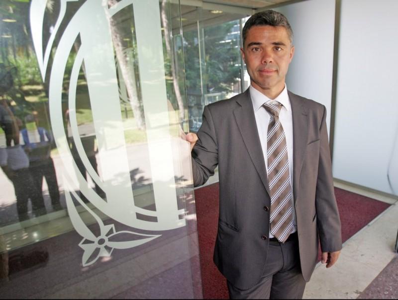 Ivan Tibau, a la seu de la Secretaria General de l'Esport. JUANMA RAMOS