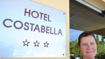 Cristina Masferrer, directora de l'Hotel Costabella LLUÍS SERRAT
