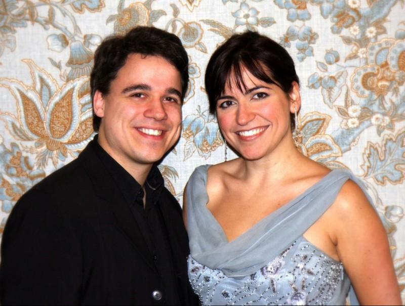 Alexander Fleischer i Anna Alàs oferiran el primer concert de la temporada. JJMM