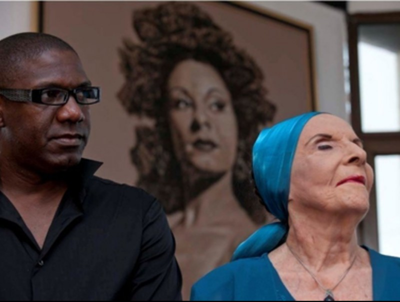 La ballarina Alicia Alonso, de més de 90 anys, va ser a Capmany el cap de setmana passat. DESAT'ART