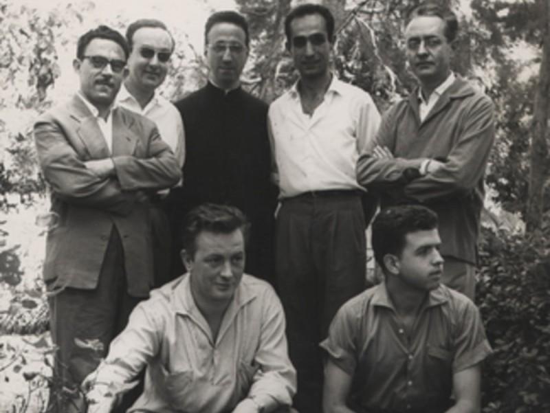 Grup d'assistents a un curset dels anys seixanta. EL PUNT AVUI