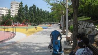 El parc de les Muntanyetes, al districte de Montigalà J.N