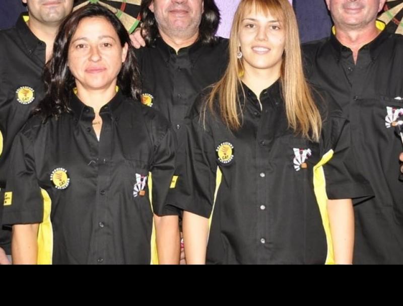 Els jugadors de la selecció catalana que van competir en el mundial.  EL 9