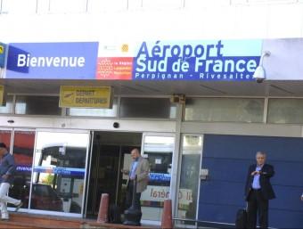 """Aeroport de Perpinyà, rebatejat """"Sud de France"""" J.M. ARTOZOUL"""