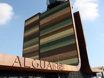 Les servituds aèries de l'aeroport d'Alguaire han creat una nova polèmica amb Aragó. ARXIU