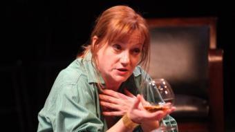 Rosa Renom, Claire, una de les protagonistes.  JOAN SABATER