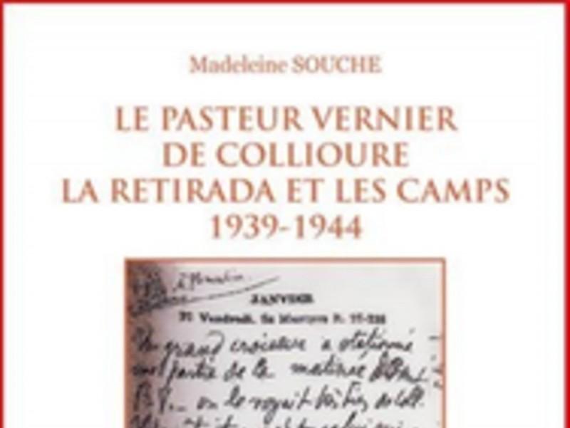 El llibre sobre el pastor Vernier de Cotlliure.