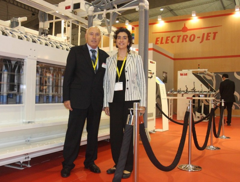 Jaume Sala i Ester Rovira d'Electro-jet