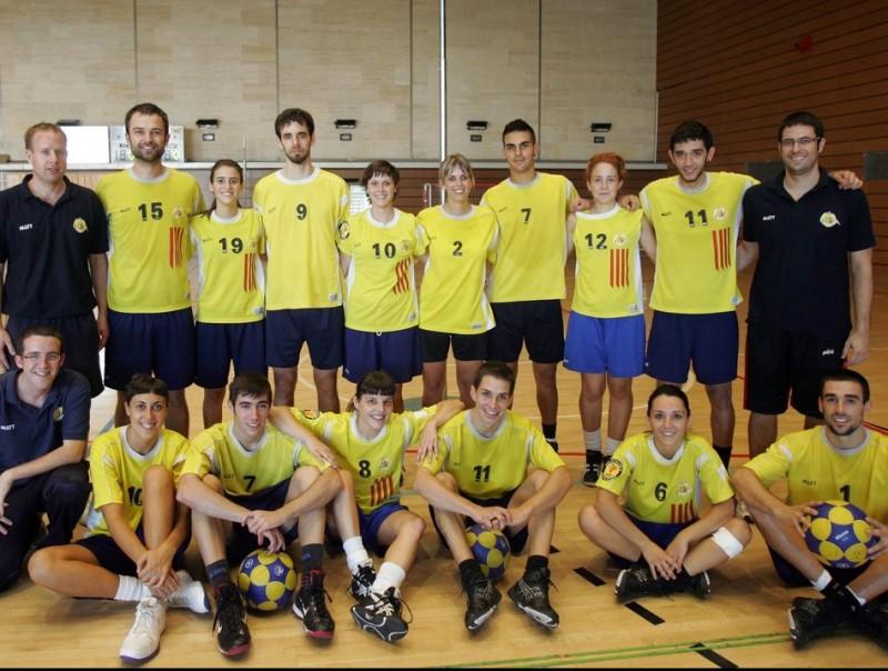 La selecció de Catalunya que participarà en el mundial de la Xina JUANMA RAMOS