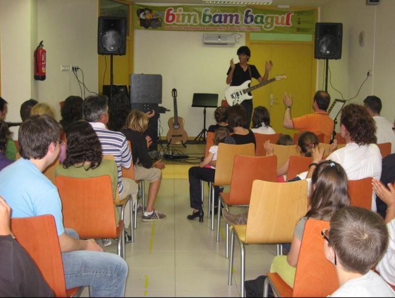 Els alumnes de l'escola de música