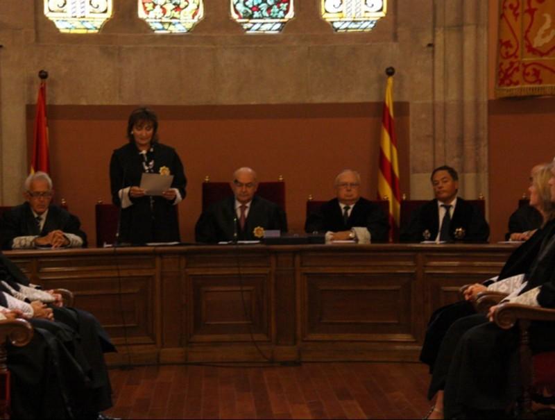 Obertura de l'any judicial, al Palau de Justícia de Barcelona.  ACN