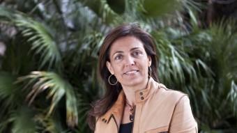 MARIAN mURO.  LA DIRECTORA DIU QUE EL BALANÇ DE LA TAXA TURÍSTICA S'HA DE FER A MITJAN TERMINI