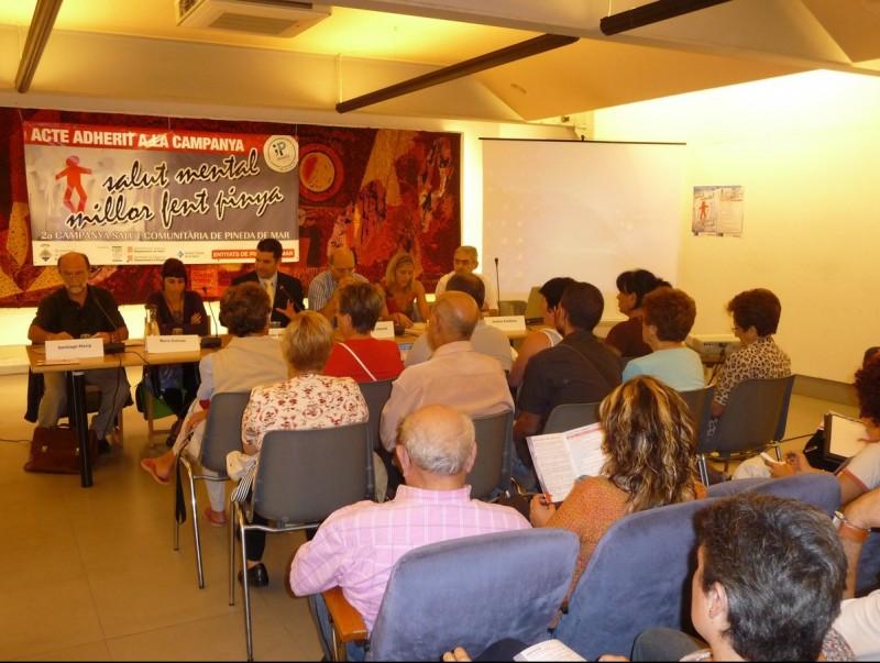 La nova campanya de salut comunitària de Pineda es va presentar dilluns amb la participació de les entitats col·laboradores. T.M