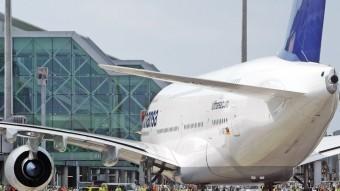 La nova T1 de l'aeroport de Barcelona té els seus orígens a la finca agrícola La Volateria, al Prat.  ARXIU / JUANMA RAMOS
