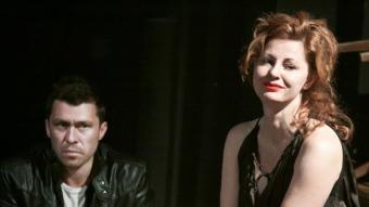 Un dels personatges de l'espectacle 'Waiting Room.0', de Krystian Lupa.  NATALIA KABANOW