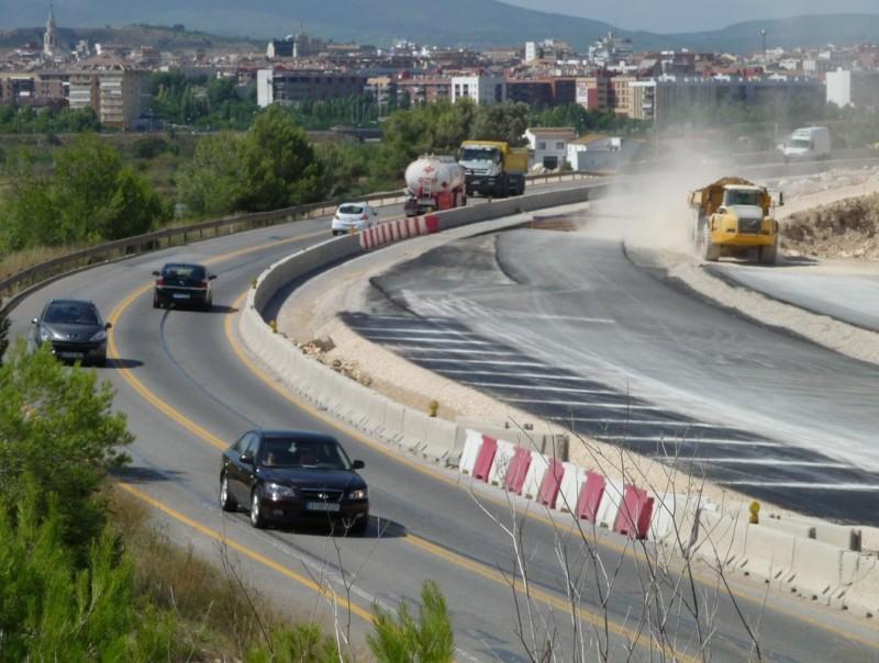 Les obres de l'eix diagonal a l'alçada de Vilafranca del Penedès A.M