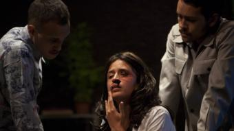 Gabino Rodríguez, Luisa Pardo i Francisco Barreiro, són els tres intèrpretsd''El rumor del incendio' LTS