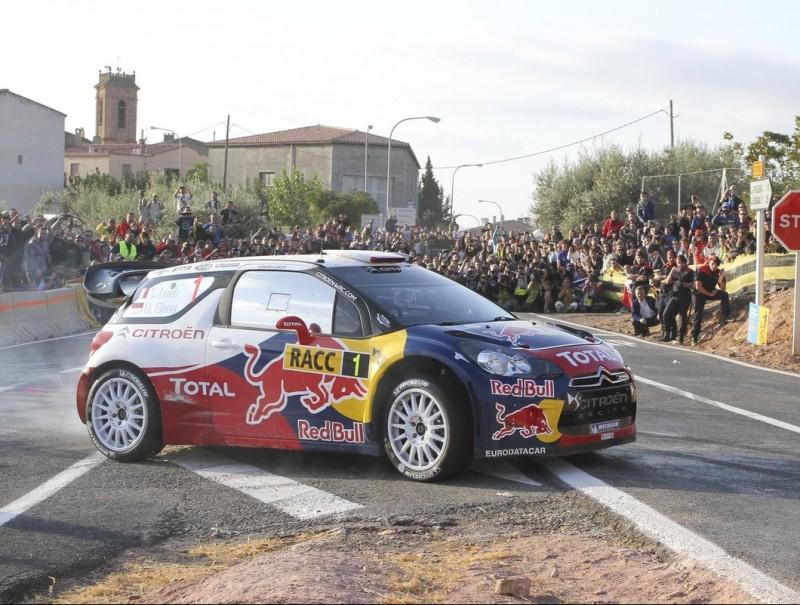 Sébastien Loeb traça un revolt en un tram d'ahir DIMAS BALAGUER