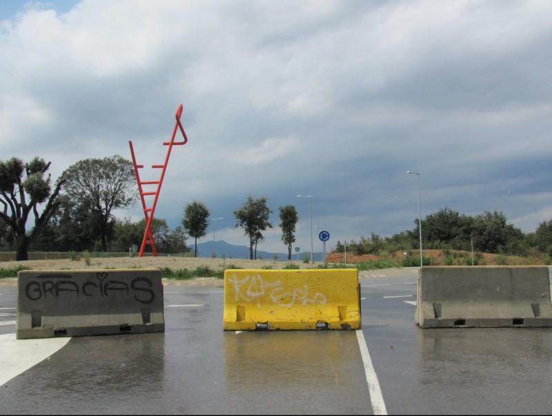 L'enllaç de Fornells a Vilablareix s'obrirà dimecres al matí quan es treguin les tanques de formigó D.V