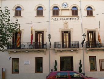 Façana de l'Ajuntament de Xixona. ESCORCOLL