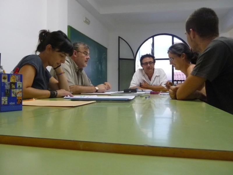 Reunió de la Comissió Coordinadora del Centre d'Estudis. ESCORCOLL