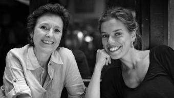 Marta Angelat i Lisa Bause posen la veu i la música, respectivament, a 'Nadir' JORDI CANÉ
