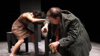 Donald i Mona, la viva imatge de la degradació, a 'Dies de vi i roses' JOAN CASTRO / CLICK ART