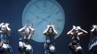 Una imatge del darrer espectacle de Mayumana, companyia que vindrà a Temporada Alta, 'Momentum 2.0'. EL PUNT