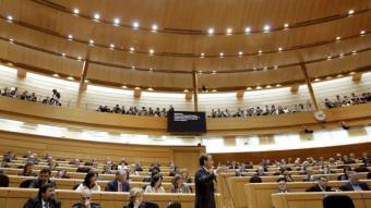 Una sessió de control del Senat EFE