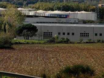 Terrenys on es faran els habitatges associats a la construcció de la nova clínica Girona. MANEL LLADÓ